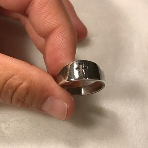 James Avery Cross Ring, Size 7